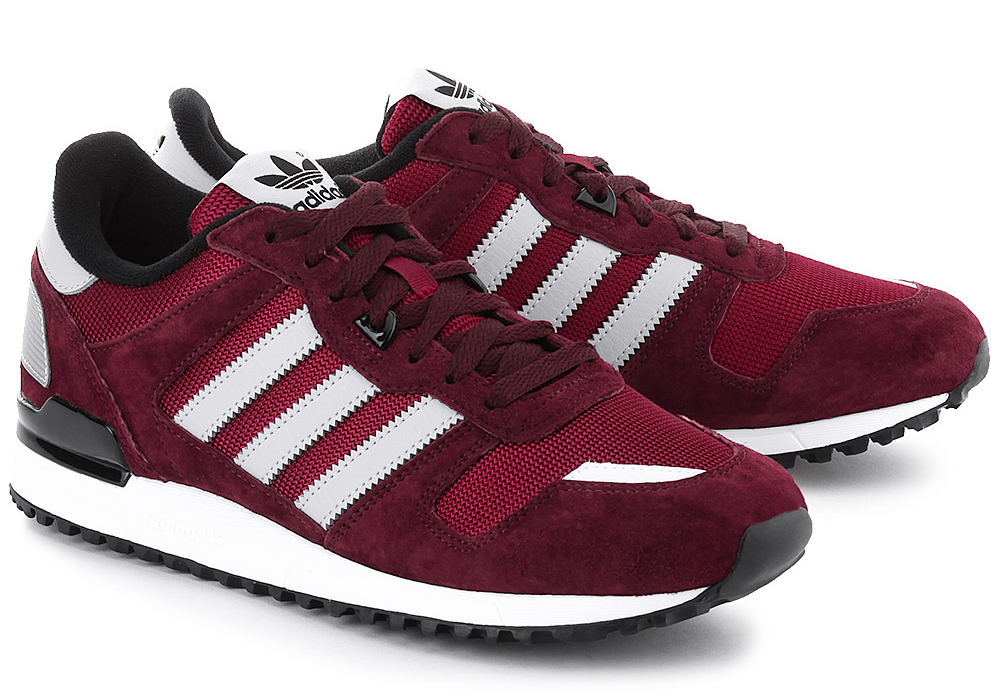 ADIDAS ORIGINALS ZX 700 BURGUNDY 1