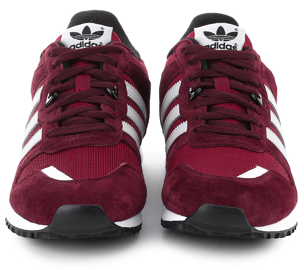 ADIDAS ORIGINALS ZX 700 BURGUNDY 2