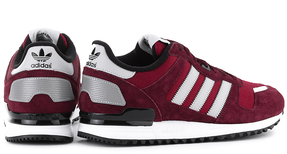 ADIDAS ORIGINALS ZX 700 BURGUNDY 3