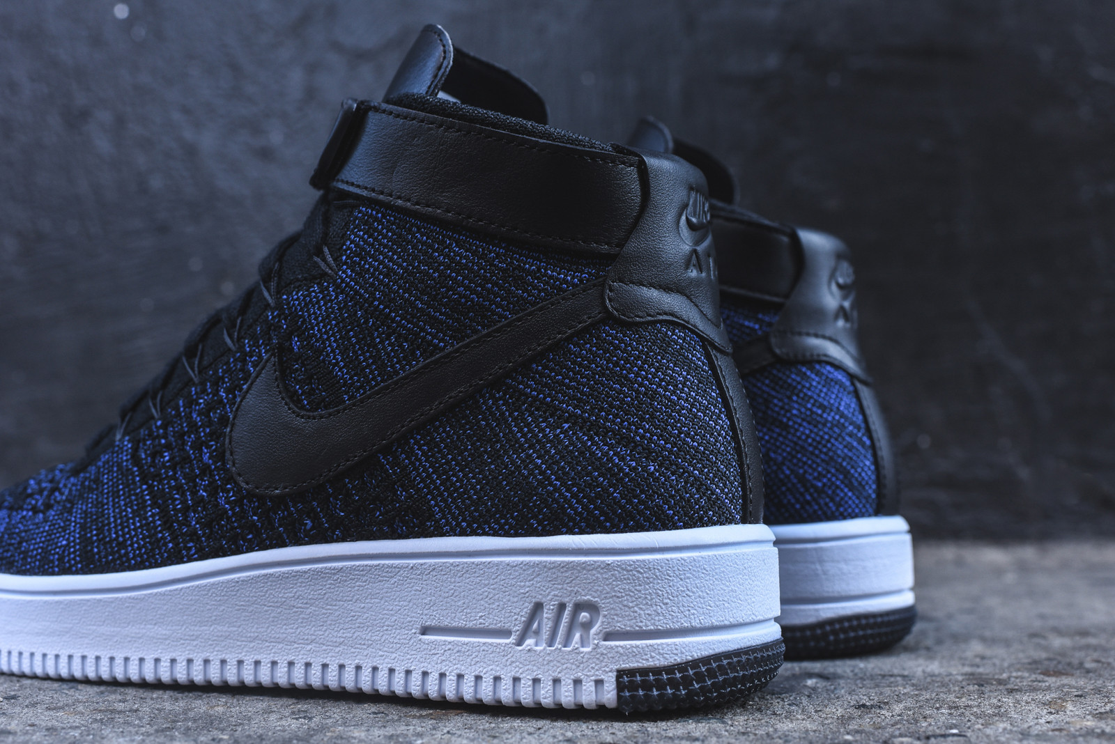nike air force 1 ultra flyknit mid blue. Black Bedroom Furniture Sets. Home Design Ideas