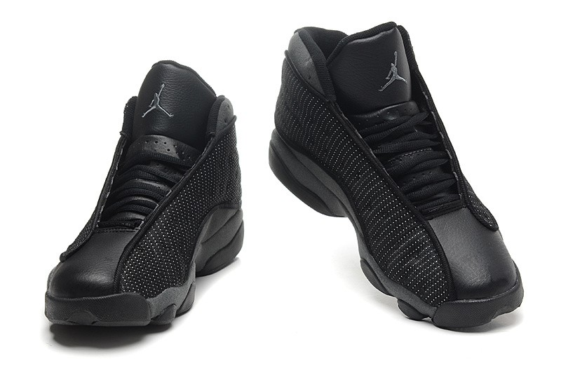 Sale-Cheap-Air-Jordan-13-Retro-All-Black-Online-1