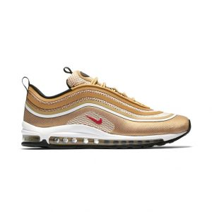 sneakers nike air max 97 ultra 17 metallic gold varsity red black