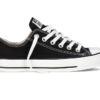 Converse All Star Chuck Taylor low черно-белые 1