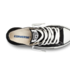 Converse All Star Chuck Taylor low черно-белые 3