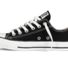 Converse All Star Chuck Taylor low черно-белые2