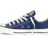 Converse All Star Chuck Taylor low синие  2