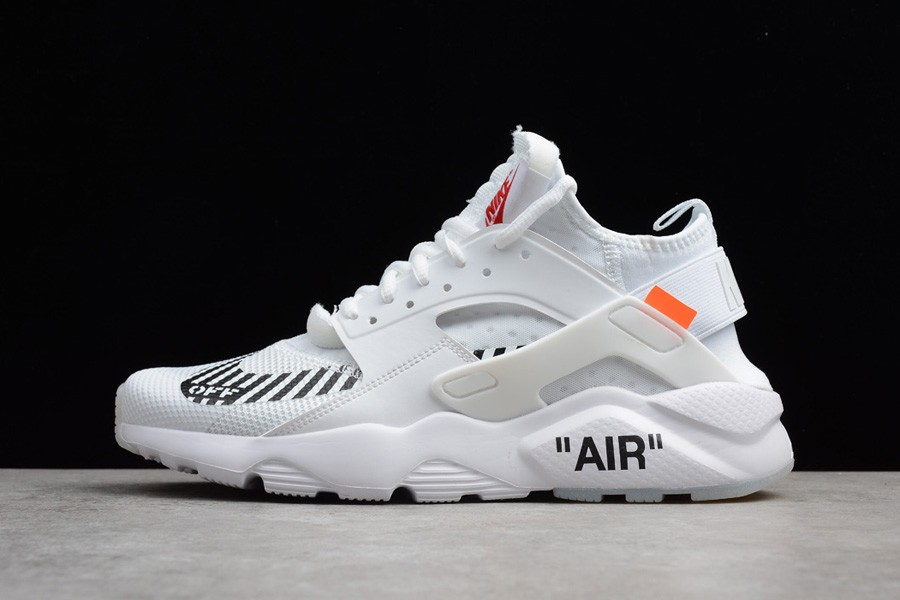 98488074 OFF-WHITE x Nike Air Huarache Ultra Black - кроссовки OFF-WHITE