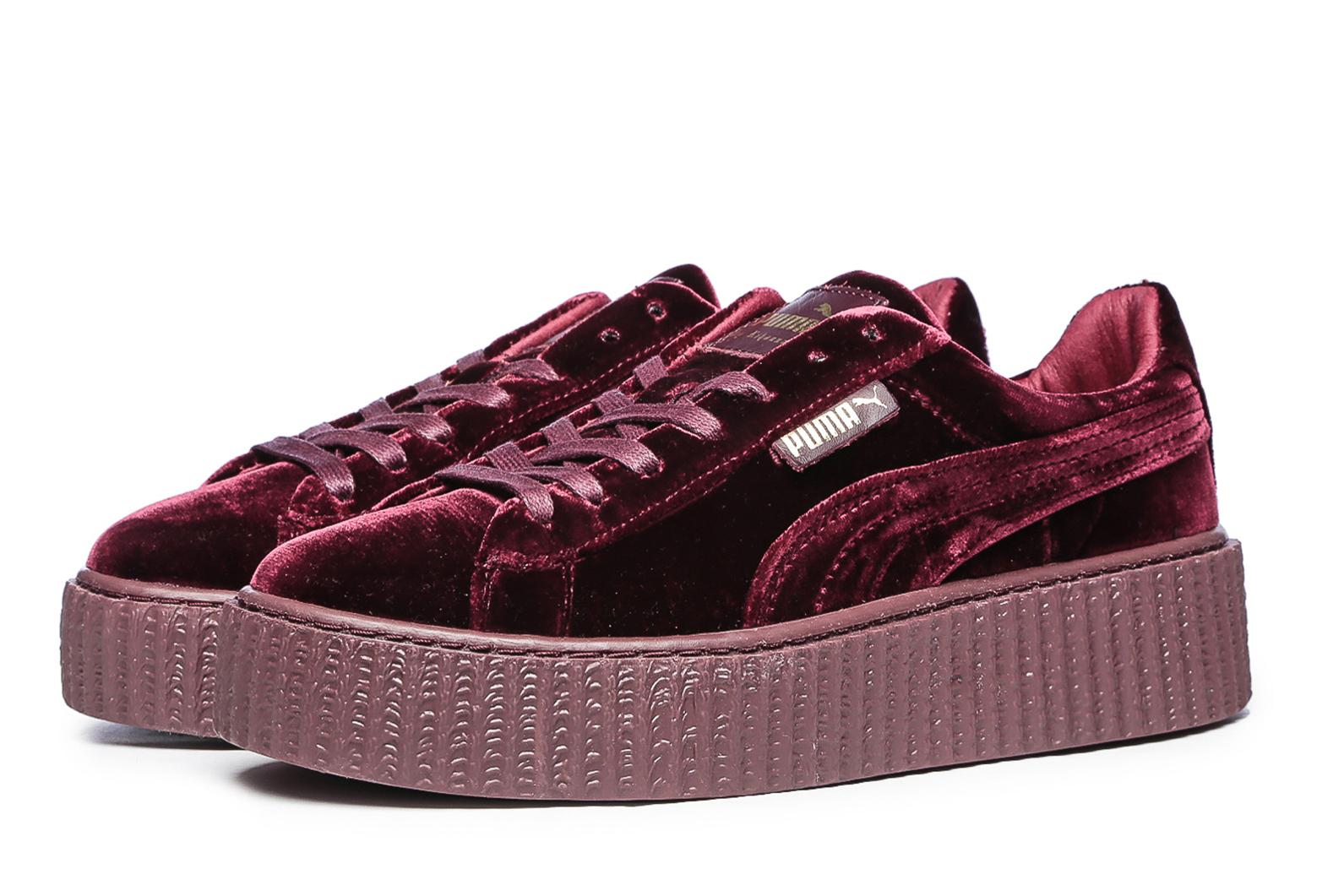 check out f7e6b 02d14 Puma Rihanna VELVET Бордовые(36-40)